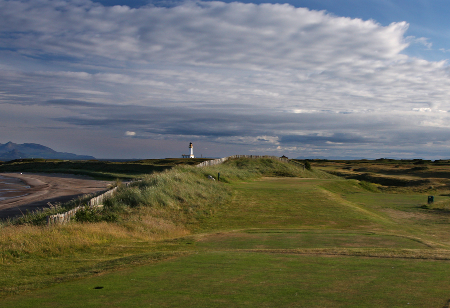 Turnberry Ailsa Course, 7th hole Roon The Ben'