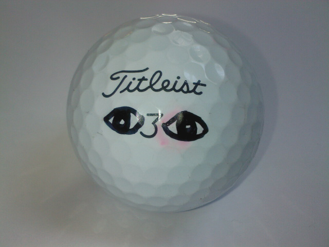 Connor Fletcher, Sharpie golf ball marker competition