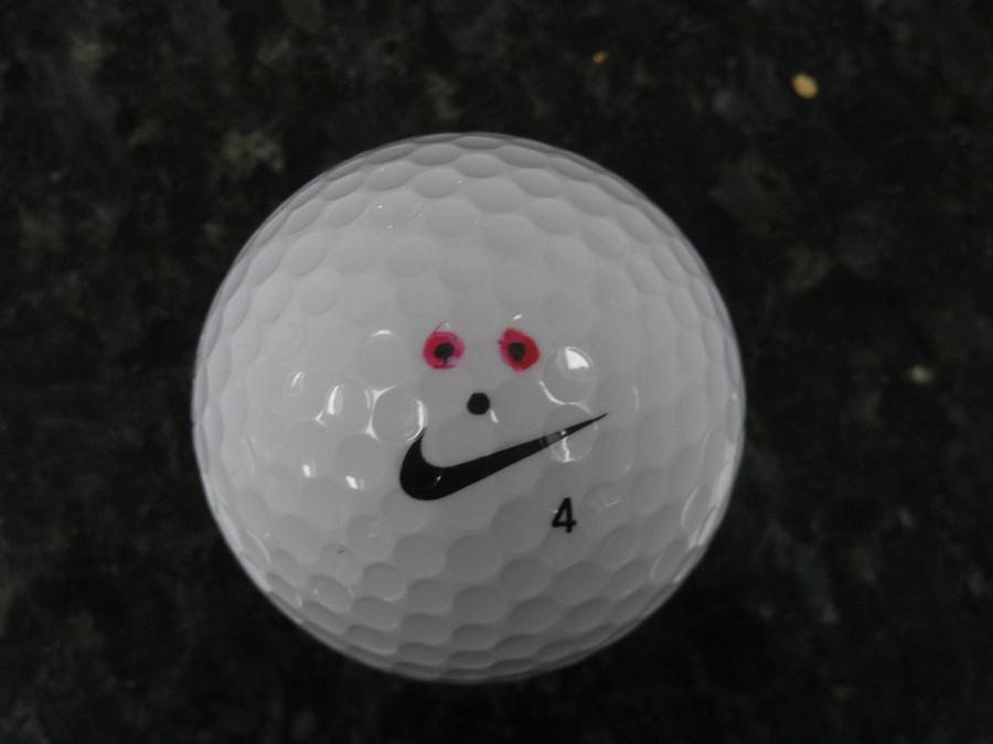 Eddie Robinson, Sharpie golf ball marker competition