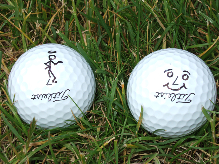 Jonathan Ede, Sharpie golf ball marker competition