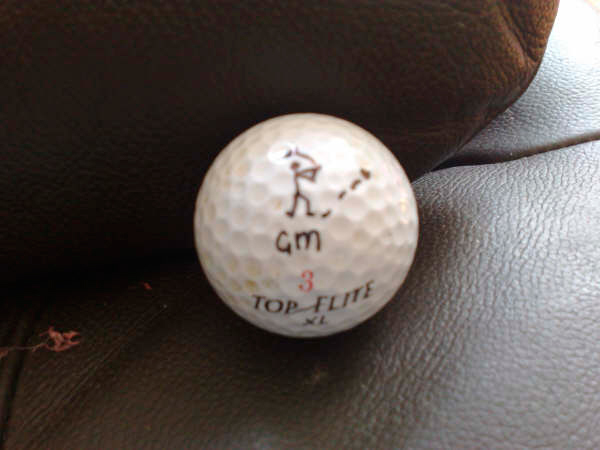 Sam Bagley, Sharpie golf ball marker competition
