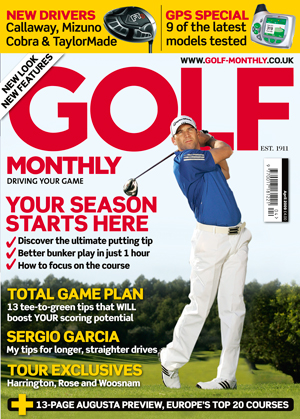 Golf Monthly April 2009 cover