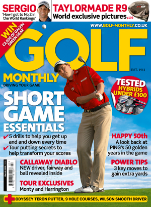 Golf Monthly March 2009 cover