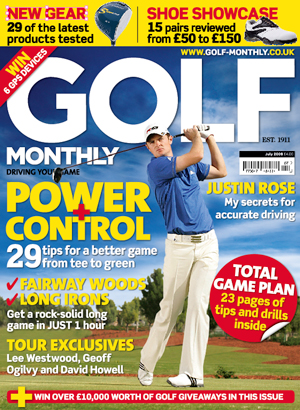 Golf Monthly July 2009 Issue