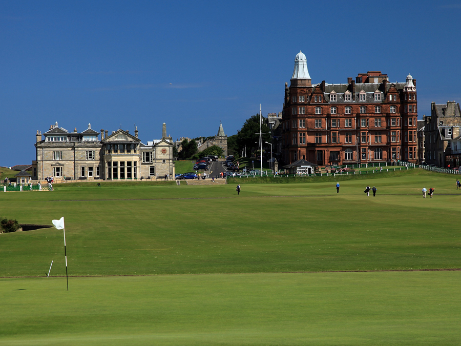 Hole 1, St Andrews Old Course, Burn