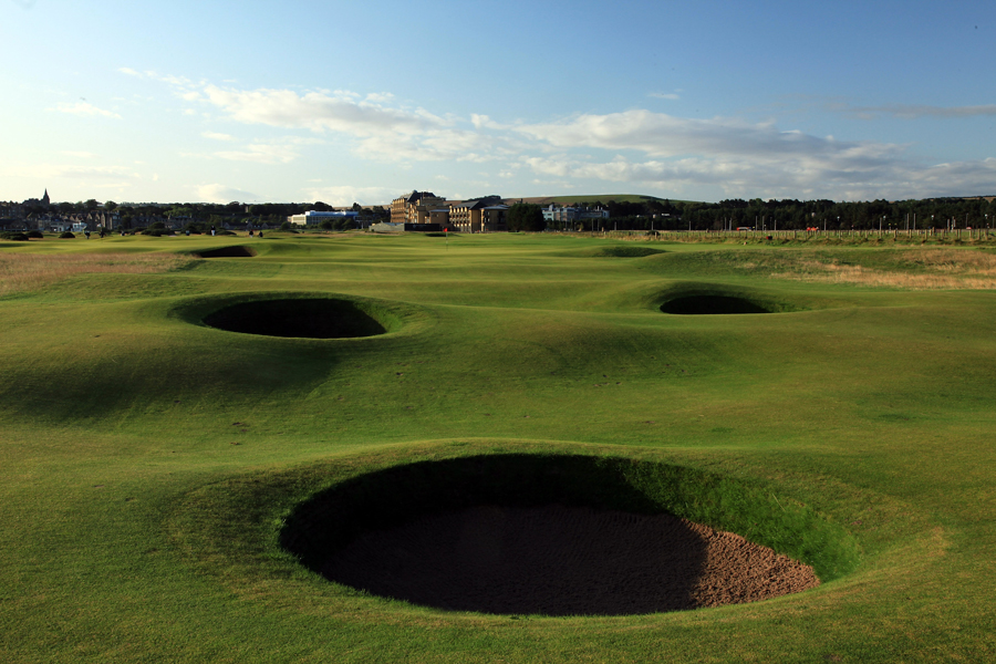 Hole 15, St Andrews Old Course, Cartgate (In)