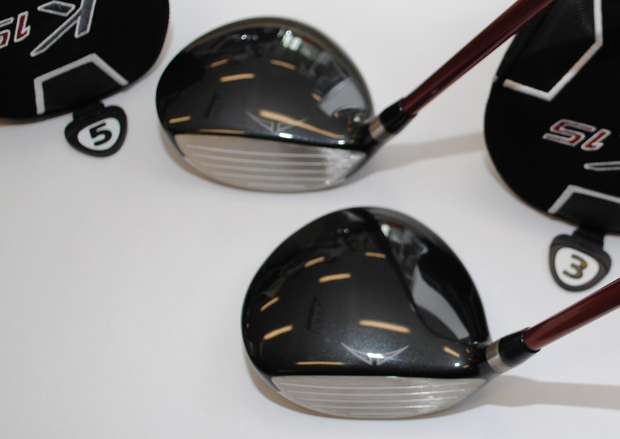 PING K15 fairway woods