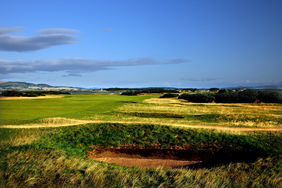 Hole 6, St Andrews Old Course, Heathery (Out)
