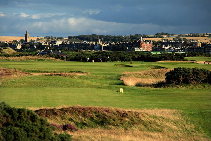 Hole 9, St Andrews Old Course, End