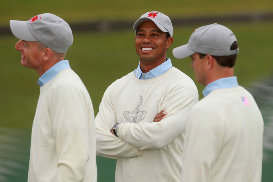 Furyk, Woods & Johnson