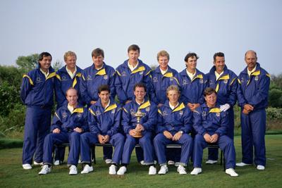 2012 Winning Ryder Cup Team The 1991 Ryder Cup Team