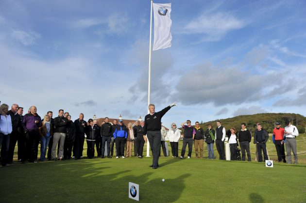 Play In The Bmw Golf Cup International At Woburn Golf
