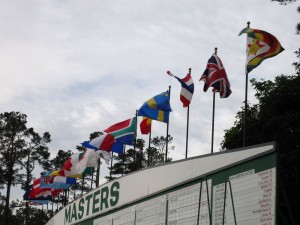 Masters 2014: Tuesday on-the-ground images