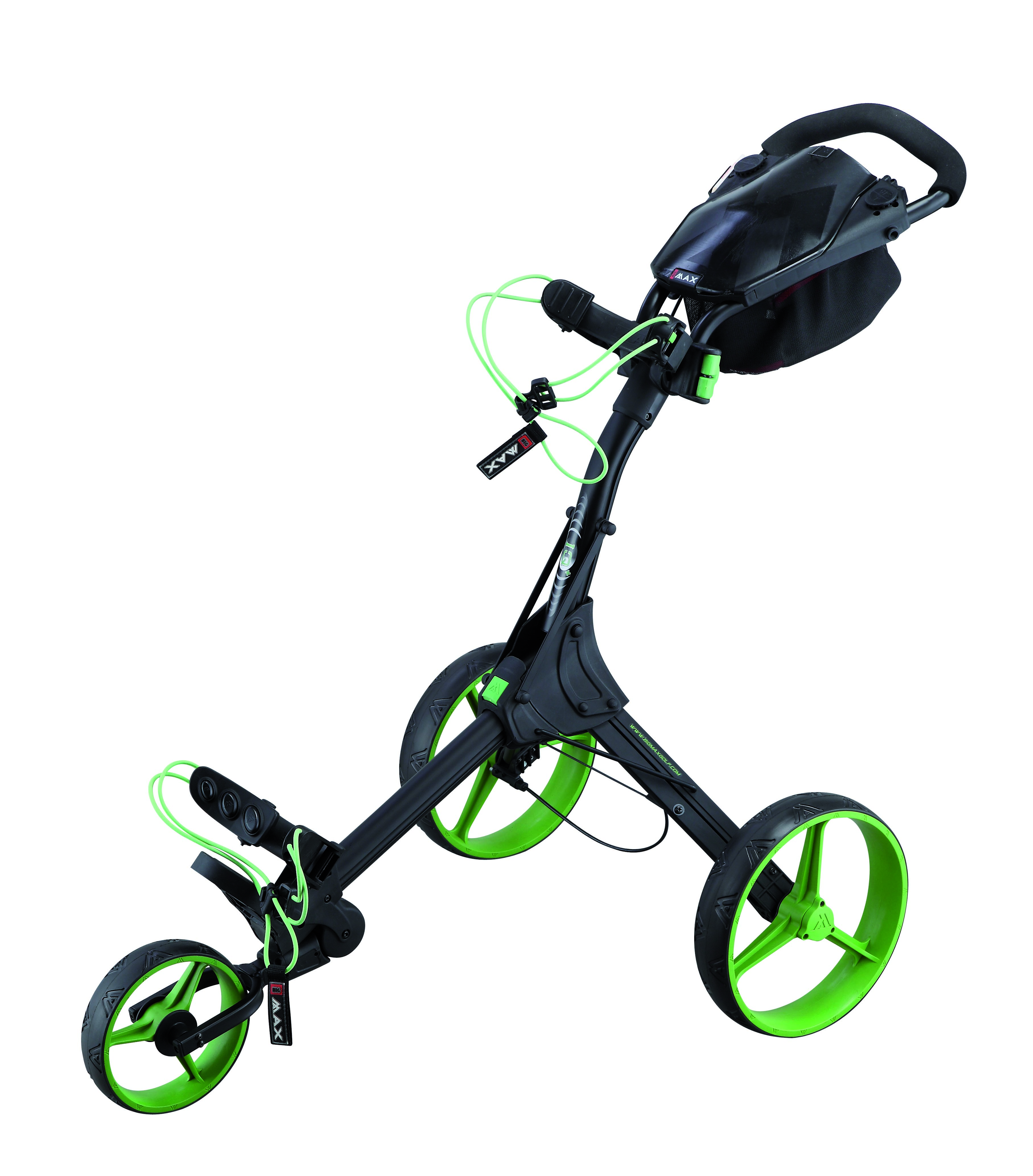 Big Max Autofold Golftrolley.Big Max Launches Ti1000 Autofold And Iq Push Trolleys