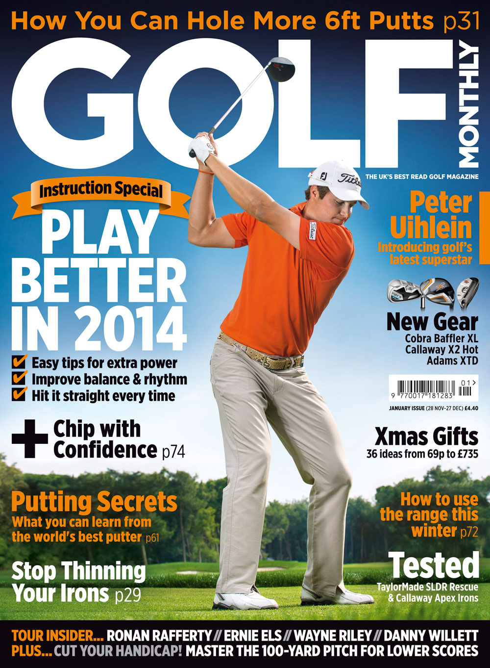 golf monthly editor u0026 39 s letter january 2014 issue