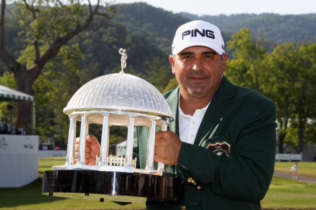 Angel Cabrera wins The Greenbrier Classic