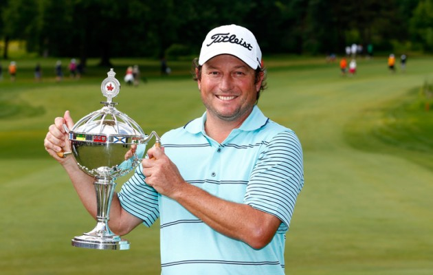 Tim Clark wins Canadian Open