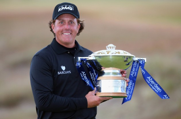 Phil Mickelson defends Scottish Open