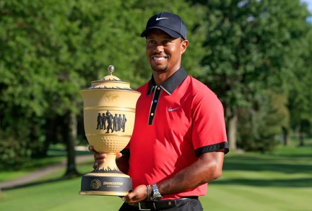 Tiger Woods defends WGC-Bridgestone Invitational