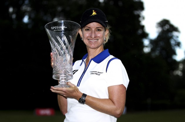 Karrie Webb defends ISPS HANDA Ladies European Masters