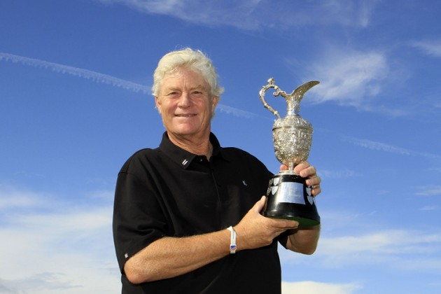 Mark Wiebe defends The Senior Open Championship