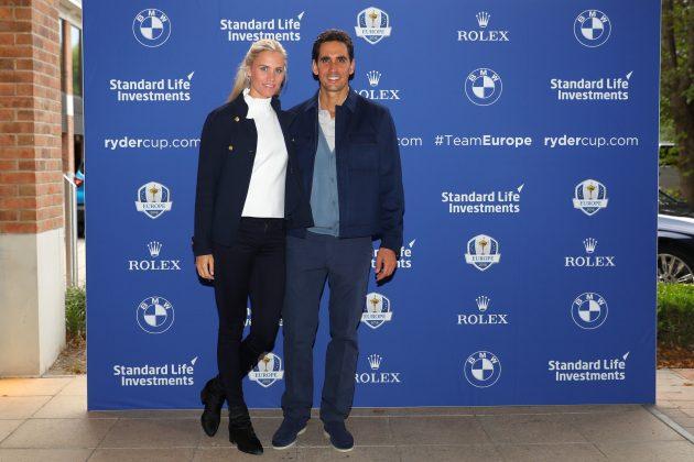 Rafa Cabrera Bello with his girlfriend Sofia Lundstedt