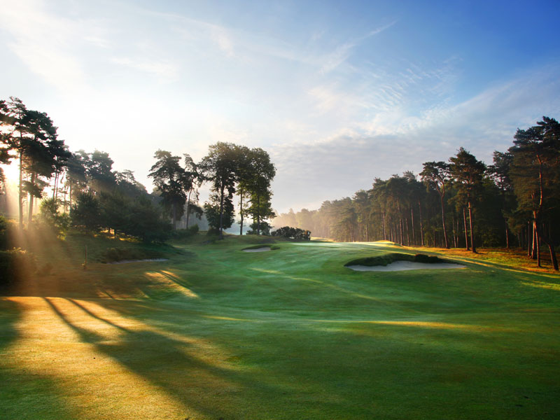 best golf courses in surrey St George's Hill Golf Club Red and Blue Course Review