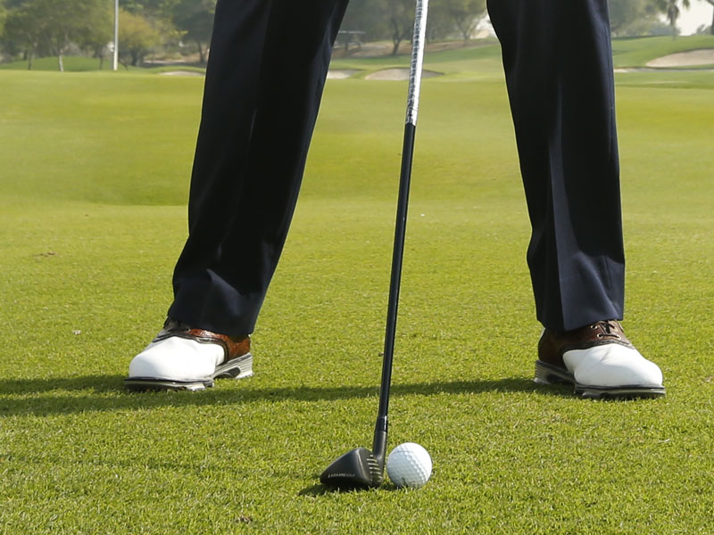 Hybrid Ball Position Video Golf Monthly