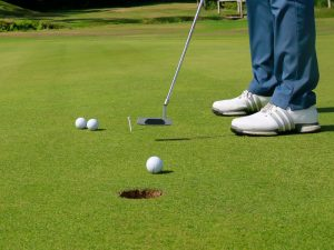 Short putt speed video