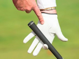 How do you grip a golf club