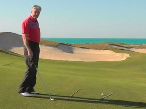 Golf-Tips-Ball-below-your-feet