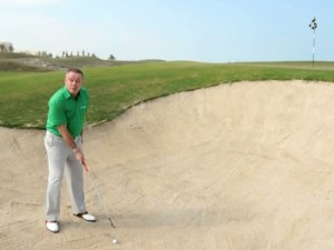 Greenside-bunker