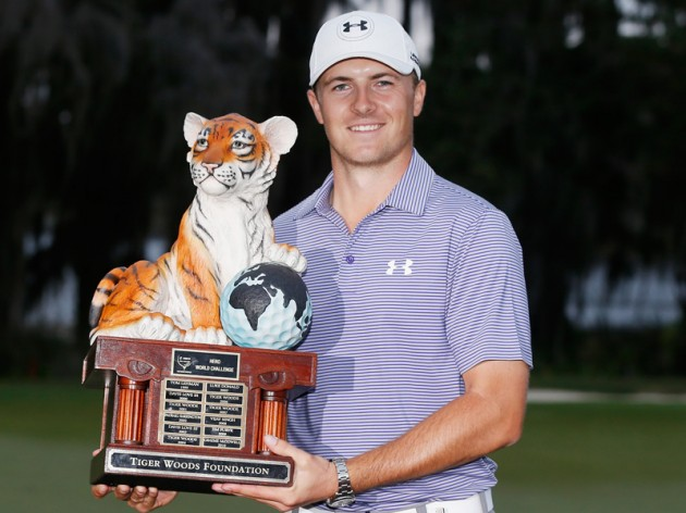 Jordan Spieth wins Hero World Challenge
