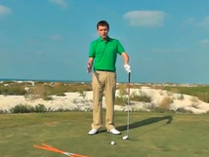 Body rotation golf drills video
