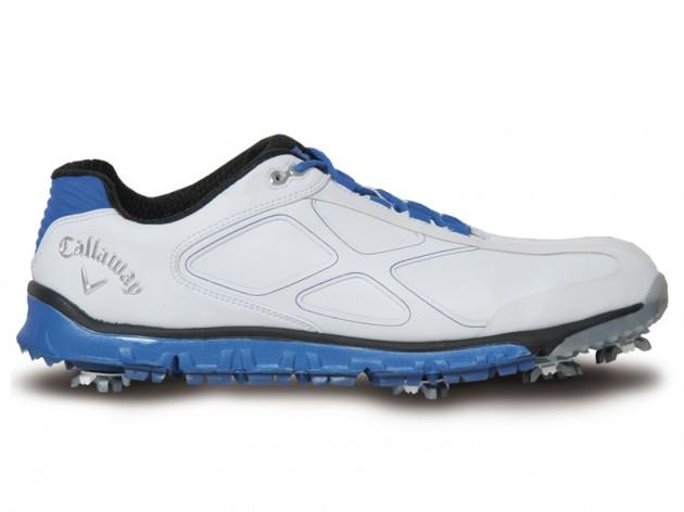 Callaway 2012 Xtreme Mens Golf Shoe - White/Black at InTheHoleGolf.com