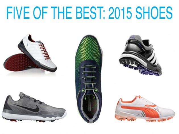 Best Q-School Shoe: FootJoy threw all their R&D resources at the DNA, and everything seemed to stick. It reps a lightweight, waterproof leather upper