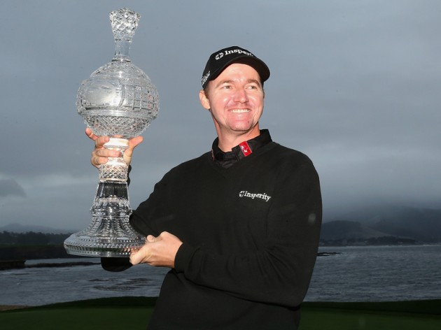 Jimmy Walker defends AT&T Pebble Beach Pro-Am