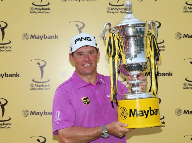 Lee Westwood defends the Maybank Malaysian Open