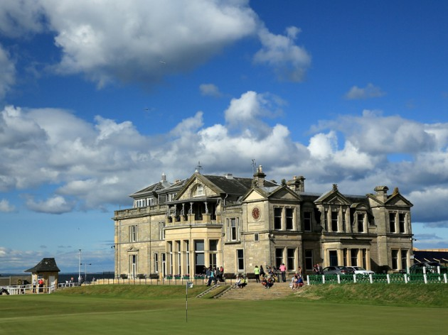 Royal and Ancient clubhouse St Andrews