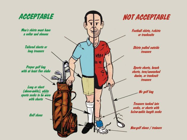 What Is The Golf Dress Code?