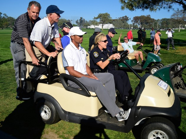 Tiger Woods withdraws from Farmers Insurance Open
