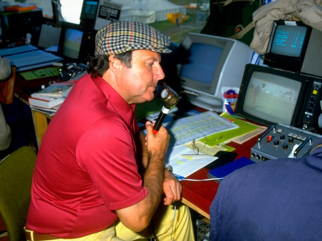 Peter Alliss Commentator The Open BBC