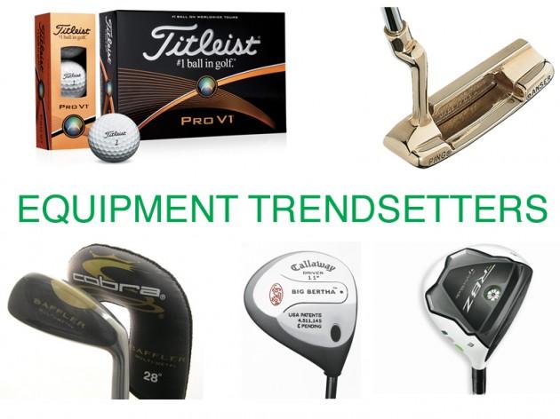Iconic golf equipment