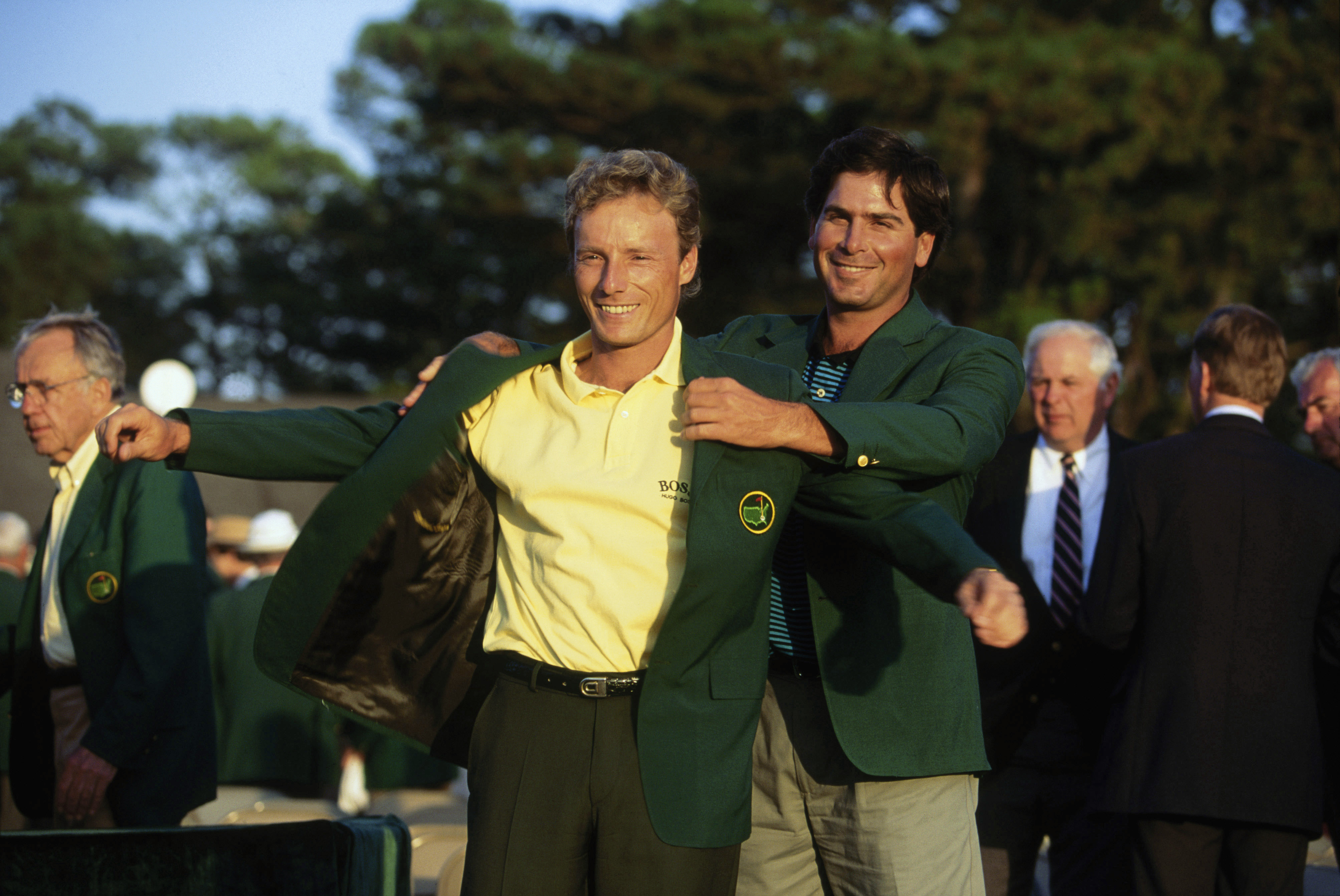 Masters Green Jacket winners' fashion hits and misses - Golf Monthly