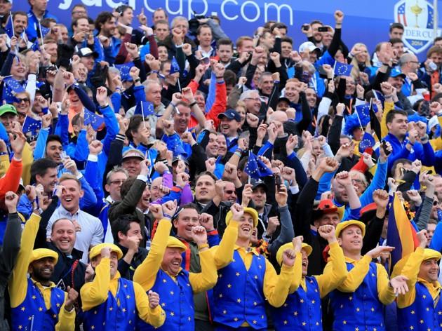 European Ryder Cup fans