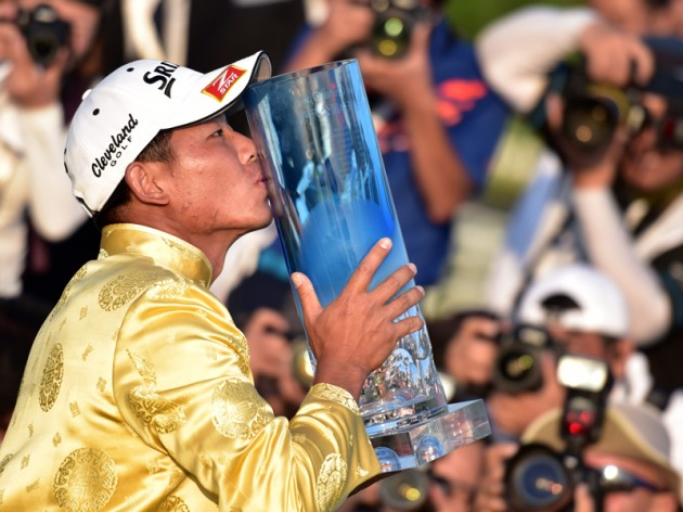 Wu Ashun wins Volvo China Open