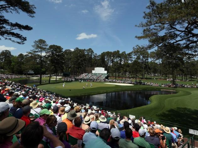 Augusta 15th hole