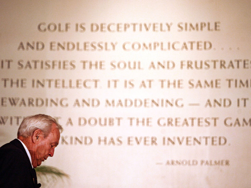 10 Of The Best Arnold Palmer Quotes - Golf Monthly