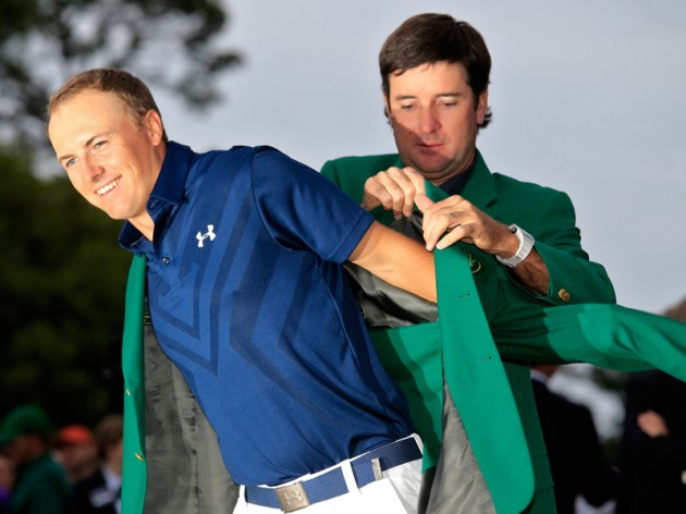 Jordan Spieth leads after one round at The Masters