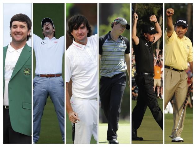 Last 8 Masters Tournaments